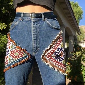 BEADED jeans! 👖